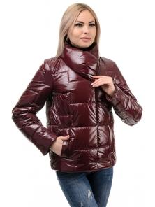 Куртка демисезонная «Лорен», 42-48, арт.285 бордо