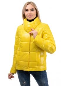 Куртка демисезонная «Лорен», 42-48, арт.285 желтый