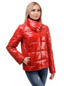 Куртка демисезонная «Лорен», 42-48, арт.285 красный