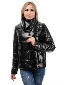 Куртка демисезонная «Лорен», 42-48, арт.285 черный