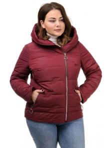 Куртка «Агата», 50-56, арт.286 бордо