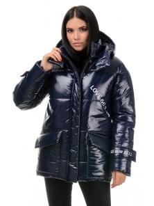 Куртка демисезонная «Лиана», 42-48, арт.299 синий