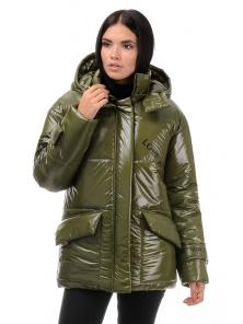 Куртка демисезонная «Лиана», 42-48, арт.299 хаки