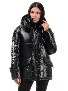 Куртка демисезонная «Лиана», 42-48, арт.299 черный