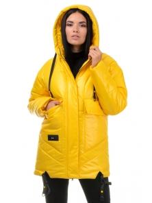 Куртка «Элла», 42-48, арт.300 желтый