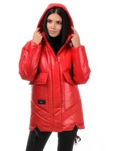 Куртка «Элла», 42-48, арт.300 красный