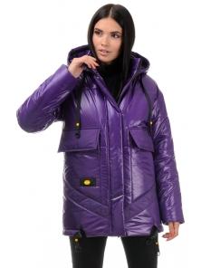 Куртка «Элла», 42-48, арт.300 фиолет