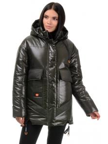 Куртка «Элла», 42-48, арт.300 хаки