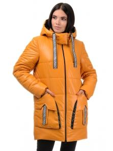 Куртка  «Кайла», 42-48, арт.301 горчица