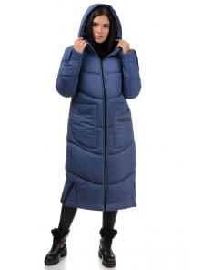Пальто «Дести», 42-50, арт.303 джинс