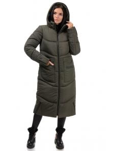 Пальто «Дести», 42-50, арт.303 хаки