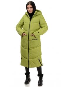 Пальто «Дести», 42-50, арт.303 яблоко