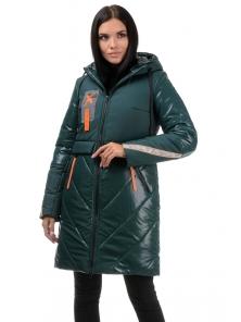 Пальто «Наса», 42-50, арт.304 зеленый
