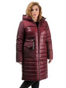Пальто «Морган», 50-56, арт.306 бордо
