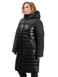 Пальто «Морган», 50-56, арт.306 черный
