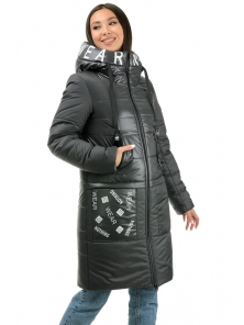 Пальто «Анталия», 42-48, арт.307 графит