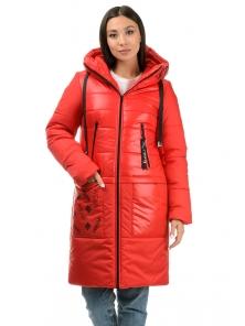 Пальто «Анталия», 42-48, арт.307 красный