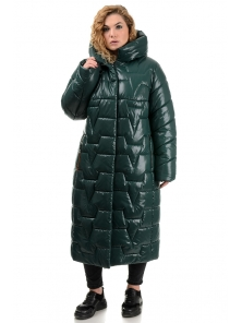 Пальто «Асия», 52-58, арт.309 зеленый