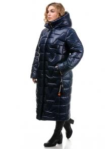 Пальто «Асия», 52-58, арт.309 синий