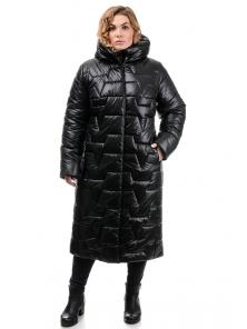 Пальто «Асия», 52-58, арт.309 черный