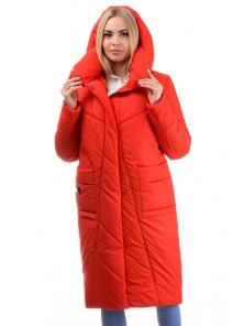 Пальто «Матильда», 44-50, арт.310 красный