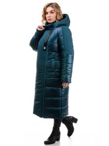 Пальто «Сара», 50-56, арт.312 морская волна