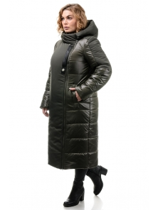 Пальто «Сара», 50-56, арт.312 хаки