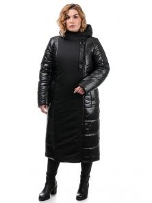 Пальто «Сара», 50-56, арт.312 черный