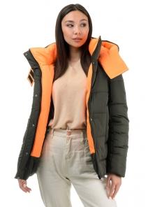 Куртка «Дарси», 42-48, арт.317 хаки-оранж