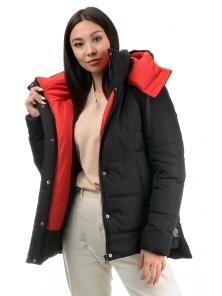 Куртка «Дарси», 42-48, арт.317 черный-красный