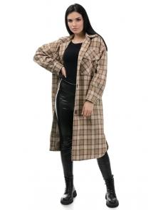 Пальто«Эрин», 42-48, арт.334 беж