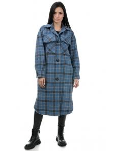 Пальто«Эрин», 42-48, арт.334 джинс