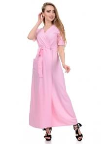 Платье «Лилия», р-ры S-L, арт.357 полоска розовый