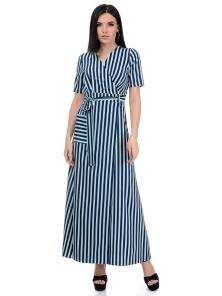 Платье «Лилия», р-ры S-L, арт.357 мята-синий