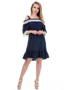 Платье «Эмма», р-ры S-L, арт.366 синий