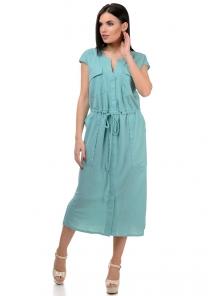 Платье «Кармэлла», р-ры S-ХL, арт.377 мята
