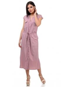 Платье «Кармэлла», р-ры S-ХL, арт.377 пудра