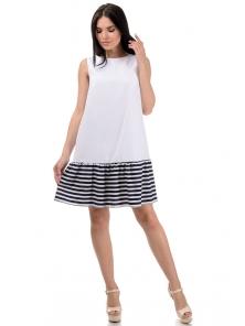 Платье «Алсу», р-ры S-L, арт.380 белый