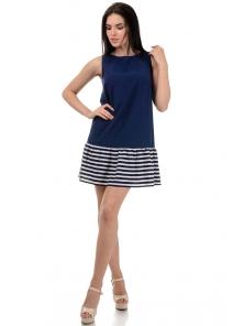 Платье «Алсу», р-ры S-L, арт.380 синий