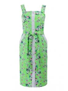 Платье «Мэйси цветок», р-ры S-ХL, арт.391 салат