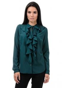 Блуза «Мишель», р-ры S-ХL, арт.393 зеленый