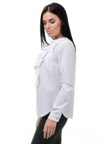 Блуза «Холли», р-ры S-ХL, арт.394 белый