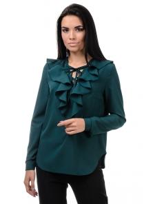 Блуза «Холли», р-ры S-ХL, арт.394 зеленый