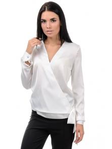 Блуза «Захария», р-ры S-L, арт.396 белый