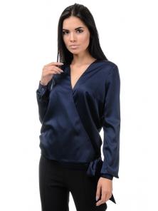 Блуза «Захария», р-ры S-L, арт.396 синий