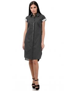Платье «Тара», р-ры S-L, арт.398 черный