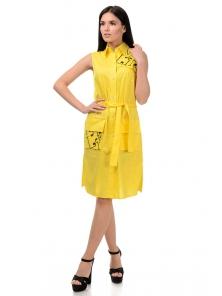 Платье «Рарити», р-ры S-ХL, арт.401 желтый