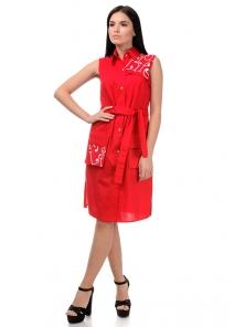 Платье «Рарити», р-ры S-ХL, арт.401 красный