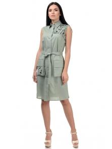 Платье «Рарити», р-ры S-ХL, арт.401 оливка