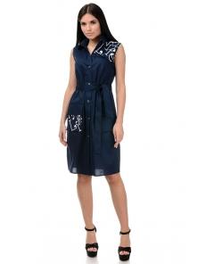 Платье «Рарити», р-ры S-ХL, арт.401 синий